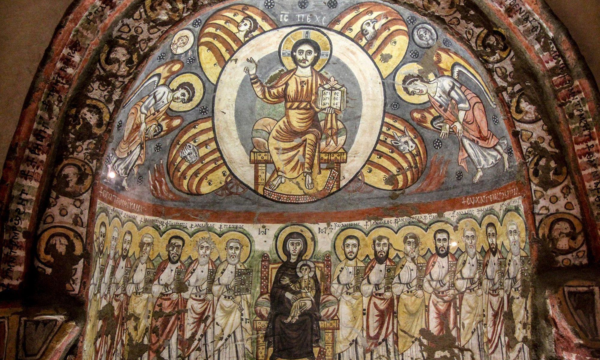 Ausstellungsstück im Koptischen Museum von Kairo