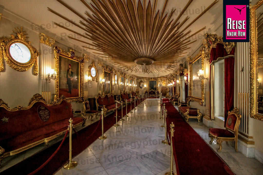 Thronpalast im Manial-Palast, Kairo