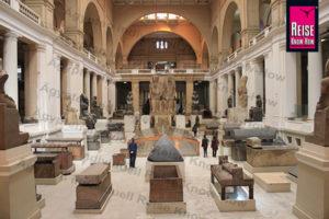 Attrium des Ägyptischen Museums am Midan el-Tahrir