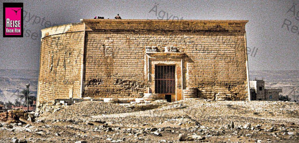 Der Tempel von Qasr Qarun