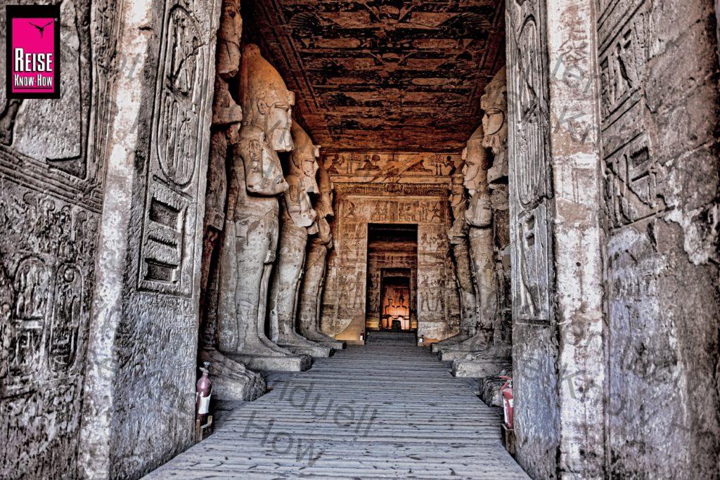 Sonnenspektakel im Tempel von Abu Simbel