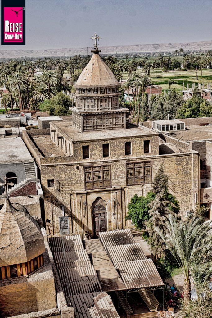 Das Deir el-Anba Balamun in Qasr wa el-Sayad